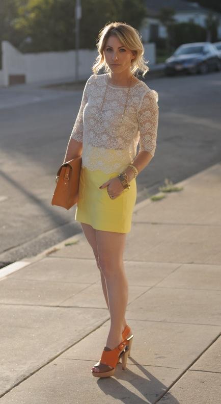 lace dress fashion