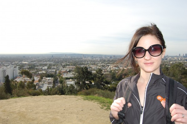 my very first hike - Runyon Canyon in Los Angeles