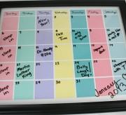 Reusable Calendar