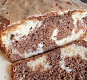 Mocha Swirl Bread with Espresso Glaze Recipe