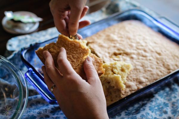 How to Make Cake Pops - Break Cake with Hands momspark.net