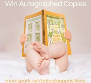 Signed Copies Giveaway! The Guide to Baby Sleep Positions: Survival Tips for Co-Sleeping Parents#BabySleepPositions