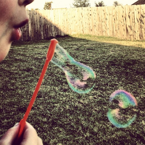summertime bubbles