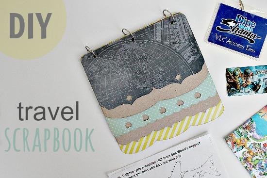 Mod Podge Travel Scrapbook Craft 2