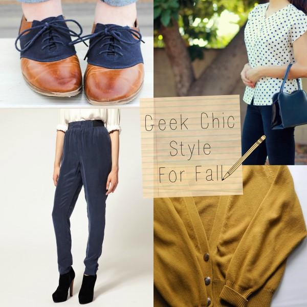 Fashion Friday: Geek Chic Essentials, Fall 2013