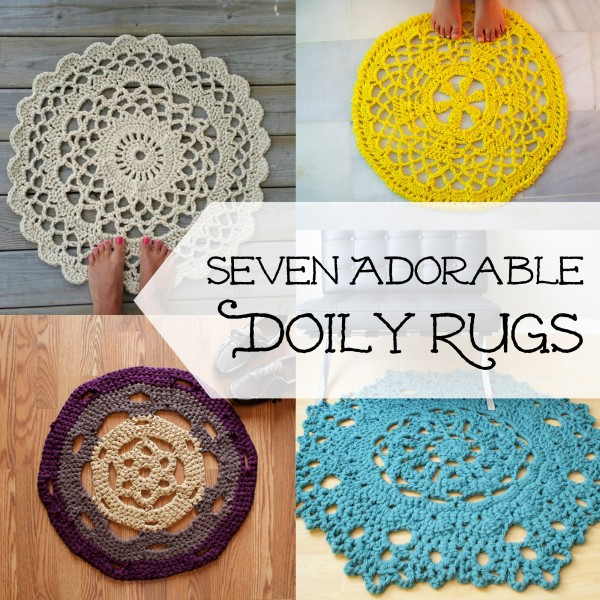 Cool Finds: Adorable Doily Rugs