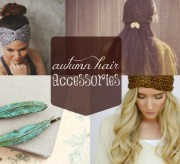 Fashion Friday: Adorable Autumn Hair Accessories
