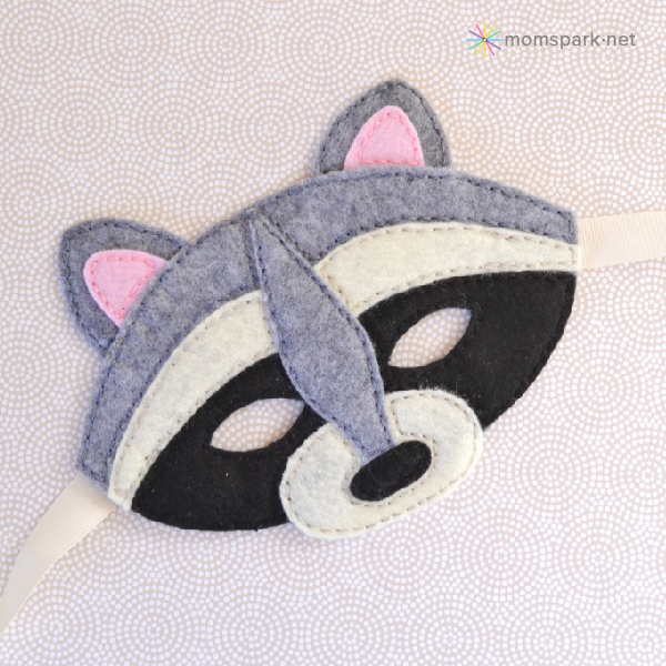 How to Make Felt Animal Masks | Mom Spark - Mom Blogger