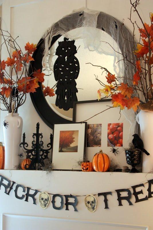 Cool Finds: Halloween Mantel Inspiration
