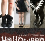 Fun Halloween Tights for Costumes