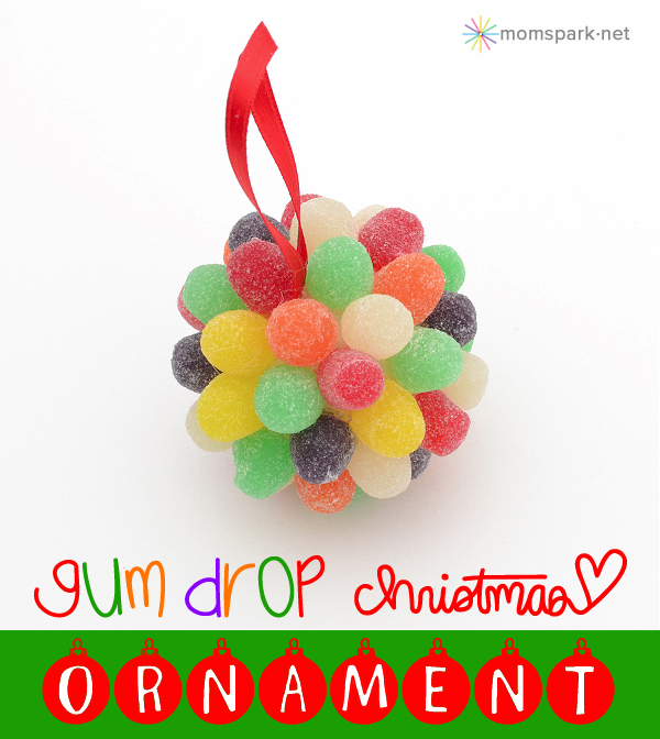 Gum Drop Christmas Ornaments Tutorial