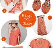 Fashion Friday: Orange You Glad?