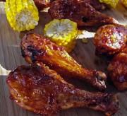 Honey Barbecue Chicken Drumsticks Recipe
