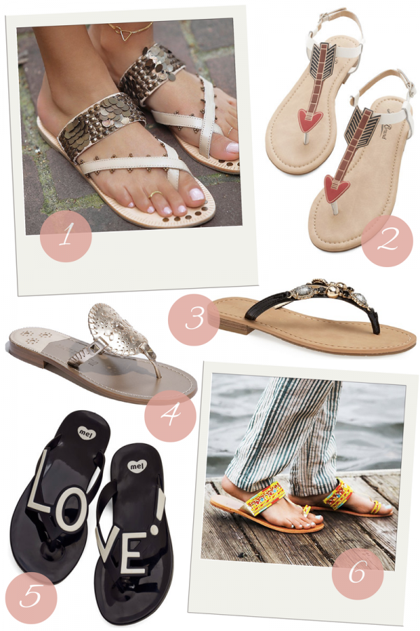 Fashion Friday: Flipping For These Flip Flops!