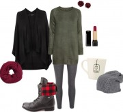 Outfit Inspiration: On A Chilly Fall Morning