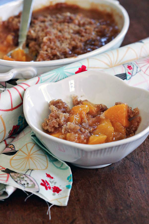 Juicy Peach Crisp Recipe