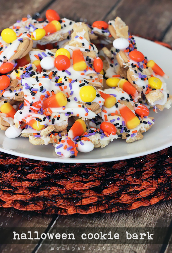 Halloween Cookie Bark Recipe