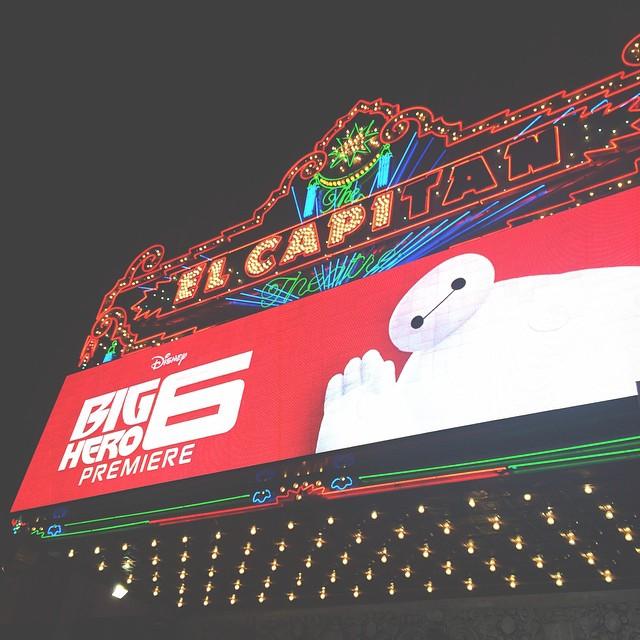 BIG HERO 6 Red Carpet Premiere at the El Capitan - Celebrity Sightings!