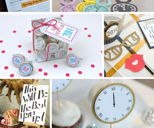 6 FREE Printables For New Year's Eve!