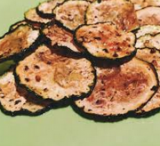 Baked Salt and Pepper Zucchini Chips