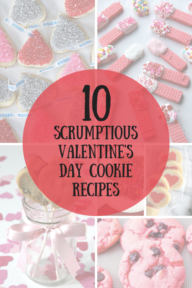 10 Scrumptious Valentines Day Cookie Recipes Mom Spark