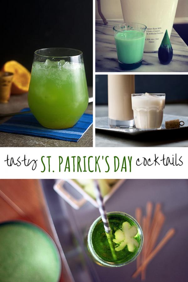 Tasty St. Patrick's Day Cocktails