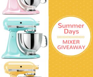 Stand Kitchenaid Mixer Giveaway