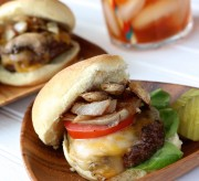 Beef Sliders with Balsamic Mushrooms and Onions
