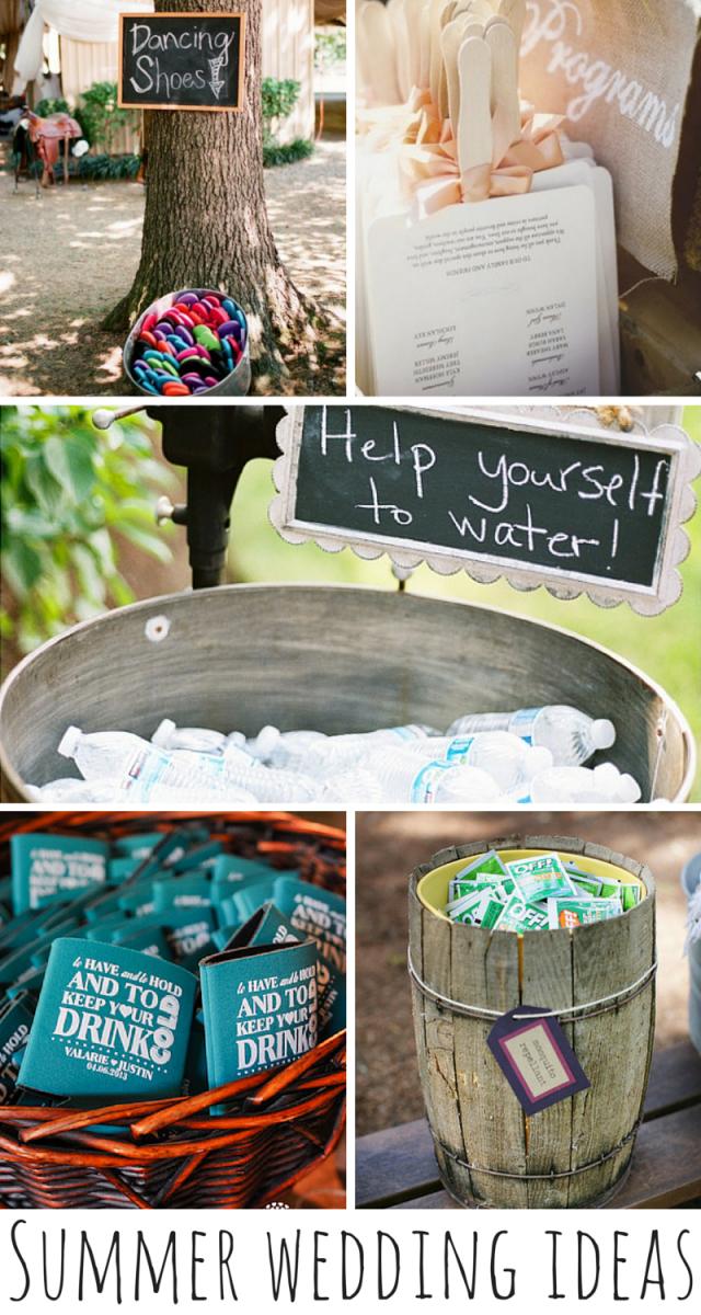 5 Cool Summer Wedding Ideas