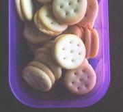 organic cheese cracker snacks