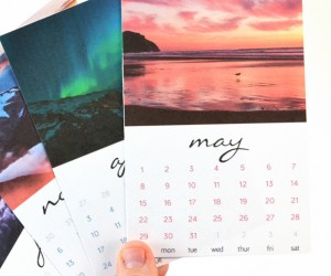 Get your free 2016 printable calendar card set from Mom Spark!