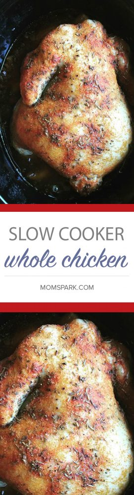 The Easiest Slow Cooker Crock-Pot Whole Chicken Recipe