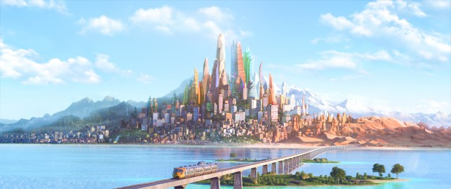 """ZOOTOPIA – The modern mammal metropolis of Zootopia is a city like no other. Comprised of habitat neighborhoods like ritzy Sahara Square and frigid Tundratown, it's a melting pot where animals from every environment live together—a place where no matter what you are, from the biggest elephant to the smallest shrew, you can be anything. But when optimistic Officer Judy Hopps arrives, she discovers that being the first bunny on a police force of big, tough animals isn't so easy. Determined to prove herself, she jumps at the opportunity to crack a case, even if it means partnering with a fast-talking, scam-artist fox, Nick Wilde, to solve the mystery. Walt Disney Animation Studios' """"Zootopia,"""" a comedy-adventure directed by Byron Howard (""""Tangled,"""" """"Bolt"""") and Rich Moore (""""Wreck-It Ralph,"""" """"The Simpsons"""") and co-directed by Jared Bush (""""Penn Zero: Part-Time Hero""""), opens in theaters on March 4, 2016. ©2015 Disney. All Rights Reserved."""