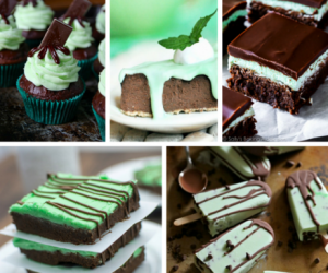 10 Rich and Decadent Mint Chocolate Recipes