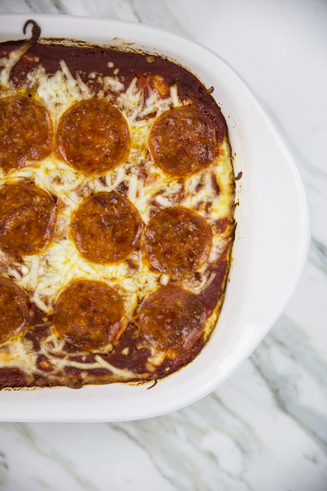Cheese Pepperoni Pizza Dip