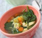 Ginger Chicken Detox Soup