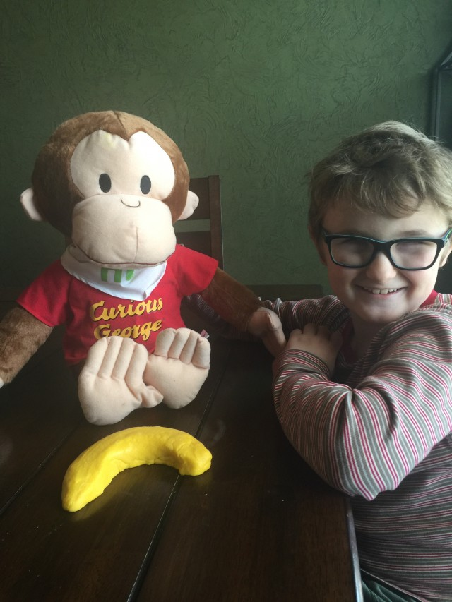 DIY Banana-Scented Play-Dough