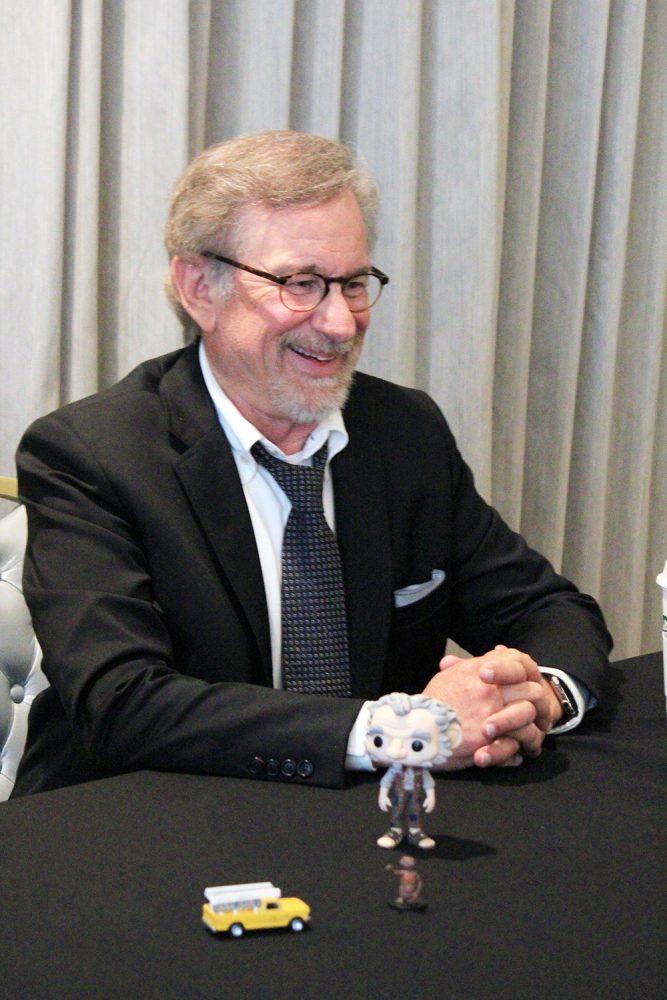 "Interview: Director Steven Spielberg & Ruby Barnhill from Disney's ""The BFG"""
