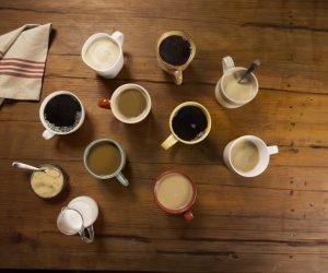 Coffee in Mugs
