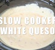 Crock-Pot® Slow Cooker White Queso Dip Recipe
