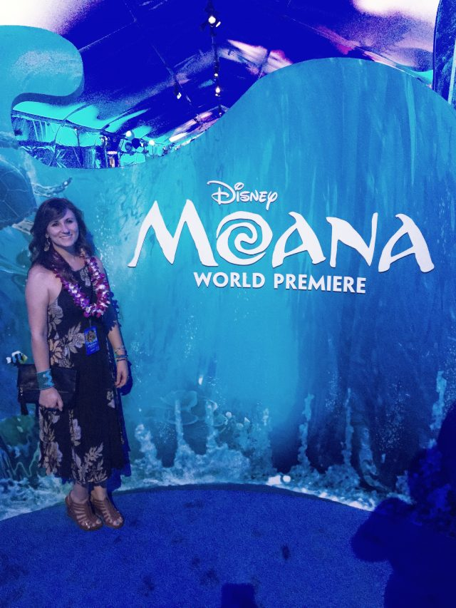 Celebrity Sightings on Disney's MOANA Hollywood Movie Red Carpet Premiere