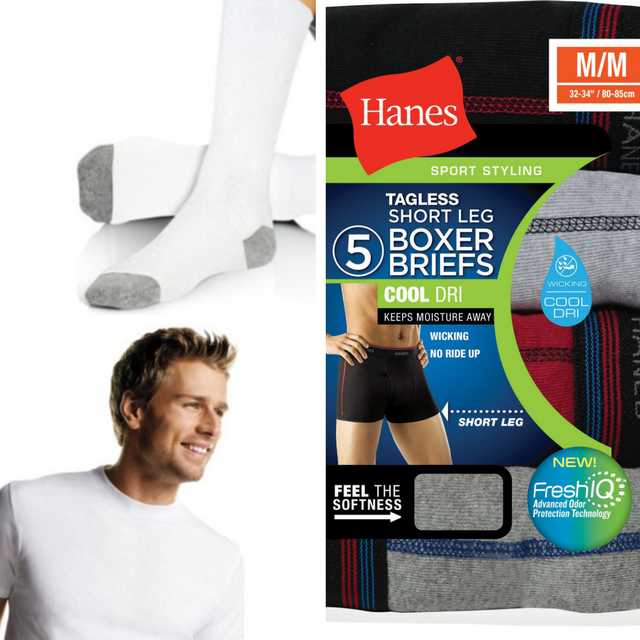New Hanes Technology Removes Odor