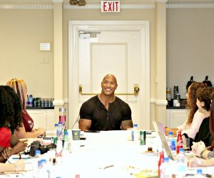 My Interview With 'The Rock' Dwayne Johnson, Voice of 'Maui' in Disney's MOANA