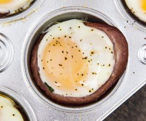 Breakfast Ham and Egg Cups Recipe