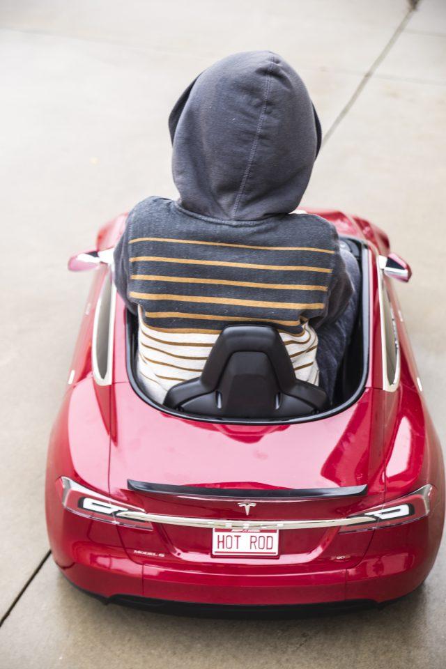 Tesla Model S for Kids from Radio Flyer
