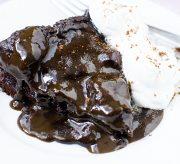 Slow Cooker Crockpot Chocolate Lava Cake Recipe
