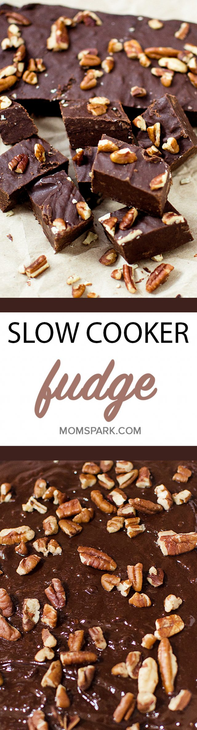 Slow Cooker Crockpot Chocolate Fudge Recipe