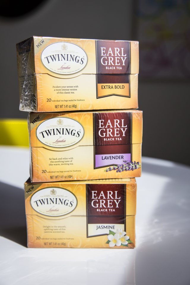 new Twinings Earl Grey flavors