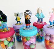 """DIY """"SING"""" Movie Easter Candy Jars"""