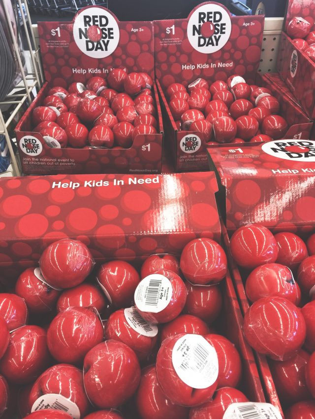 Put on Your Red Nose with Walgreens